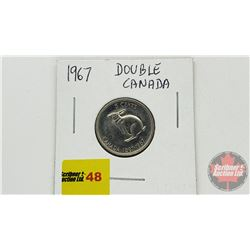 Canada Five Cent 1867-1967 (See Pic)