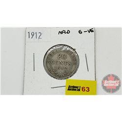Newfoundland Twenty Cent 1912