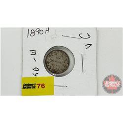 Canada Ten Cent 1890H