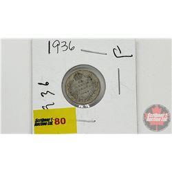 Canada Ten Cent 1936