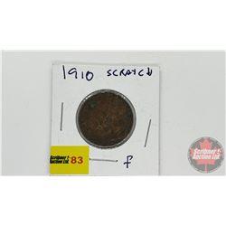 Canada Large Cent 1910 (Scratch)