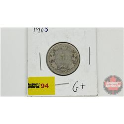 Canada Twenty Five Cent 1905