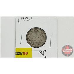 Canada Twenty Five Cent 1921