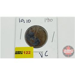 Canada Large Cent 1910