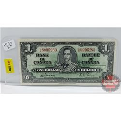 Canada $1 Bill 1937 Gordon/Towers S/N#LM8995283