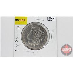 US Morgan Dollar 1884