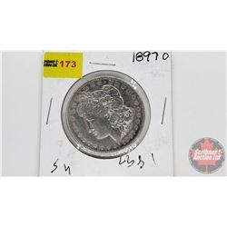 US Morgan Dollar 1897O