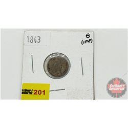 US Half Dime 1843