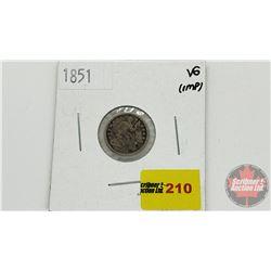 US Half Dime 1851