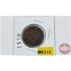 Upper Canada Half Penny Token Commercial Change 1820