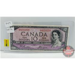 Canada $10 Bill 1954 DF Beattie/Coyne S/N#HD4153259