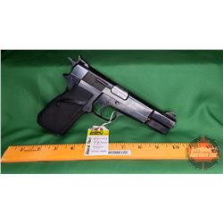 HANDGUN (R): Browning High Power 9mm L Semi-Auto (Pinned to 10 Rnds) S/N#1980C037