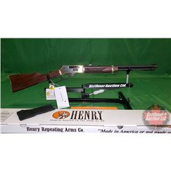 Rifle: New Surplus: Henry H024-3855 (Cowboy Carbine) 38-55 Lever Action S/N#385SCC01171