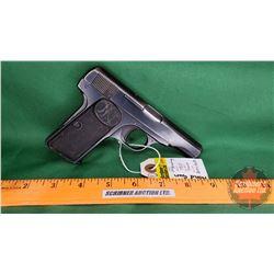 HANDGUN (PROHIB): FN Browning 1910 Semi-Auto 7mm S/N#334805