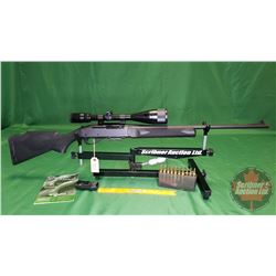 Rifle: Remington 7400 Semi-Auto 243 Win (c/w Bushnell Scope, 2 Magazines, 17 Rnds & Owners Manual) S