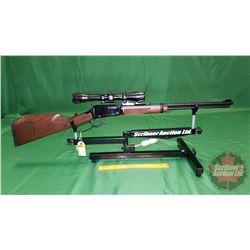 "Rifle: Henry Centennial Edition .17HMR Lever ""Alberta Centennial Edition"" (c/w Scope) S/N#V010136H"