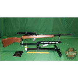 Rifle: Cooey 64B Semi Auto 22LR (c/w Bushnell Scope) S/N#CA132870
