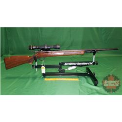 Rifle: Hiawatha Repeater 22 SL/LR Bolt (c/w Beeman Scope)