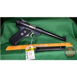 HANDGUN (R): Ruger Mark II Target .22LR Semi-Auto (c/w 2 Magazines) S/N#19-07967