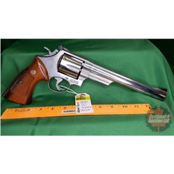 HANDGUN (R): Smith & Wesson 657 Revolver 41 Magnum (BBL 213mm) S/N#AUV7170