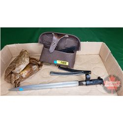 Gun Oil Kit with Stripper Clips and Bayonette