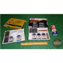 "Stock Finish Kit ""Birchwood Casey"" & Recoil Pad & Birchwood Casey Complete Perma Blue Gun Blue Kit"