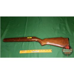Wooden Single Shot Rifle Stock