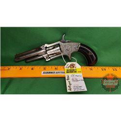 Antique Pistol: J.M. Marlin No. 32 Standard 1875 Revolver S/N#3582 (No PAL Req'd)