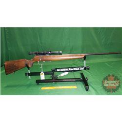 Rifle: Husqvarna AB 22 Bolt w/Scope S/N#1874