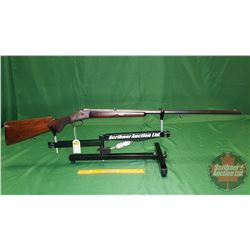 "Rifle: Husqvarna ""Danish"" Oct BBL Rolling Block (Cal & S/N ?)"