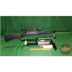 Rifle: Savage II Bolt 243 Win (c/w Scope 3-9x40) S/N#G526949 & Comes with 17rnds Ammo
