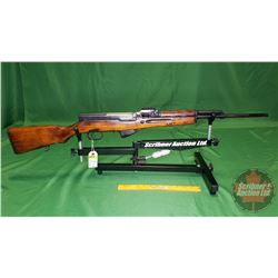 Rifle: SKS Russian 1953R Semi-Auto 7.62 x 39