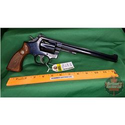 HANDGUN (R): Smith & Wesson 48-4 Revolver 22 MRF (BBL 213mm) S/N#19K7241