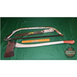 Machete; Hand Saw; Ice Axe Fibreglass Handle
