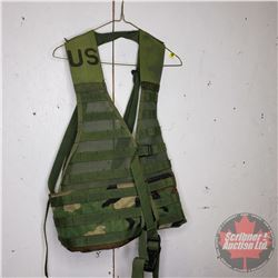 US Army Woodlands Camo Vest