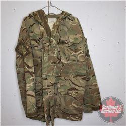 Military Combat Smock (British Camo) Size 180/96