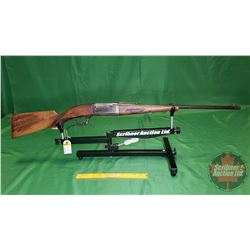 Rifle: Savage 99 Lever Action 250/3000 Savage - Carved Stock S/N#317381