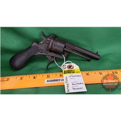 Antique Pistol: Le Fauxcheaux 8mm Pinfire Revolver (No PAL Req'd)