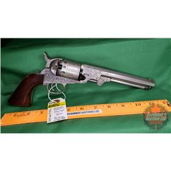 Antique Pistol: Manhattan Fire Arms Co. Navy Type .36 Revolver Oct BBL S/N#42799 (No PAL Req'd)