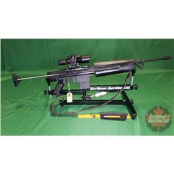 Rifle: Squires Bingham 16R Semi Auto .22LR S/N#A400092 (w/3-9x40 Scope & Laser Dot)