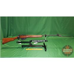 Rifle: Lee Enfield No 4 MKI Sporter 303 British Bolt 1943 S/N#43C8159 w/Bayonette