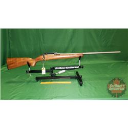Rifle: Custom - Sportco 44 Rebarrelled to .22 Cheetah Bolt Action S/N#DE031