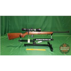 Rifle: Squires Bingham 14P Bolt Action 22LR S/N#A556563 (w/Scope)