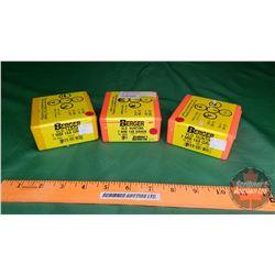 Berger VLD Hunting Bullets (2 Boxes: 7mm 168gr) (1 Box: 7mm 140gr)