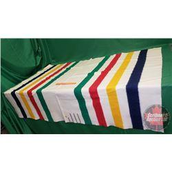 """Hudson's Bay Point Blanket 3-1/2 Pelt Lines (84"""" x 62"""")"""