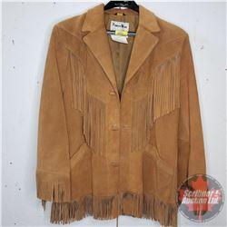 Pioneer Wear Leather Coat (Size 42 Men's)