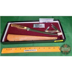 Uncle Henry & Fillet Knife w/Sheath & Pocket Knife