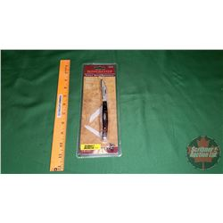 Winchester Pakka Wood Stockman - 3 Blade Knife