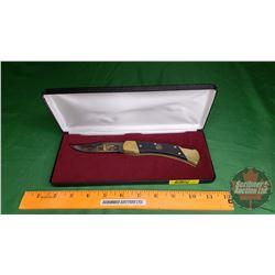 Ducks Unlimited 2000 Schrade Pocket Knife in Case