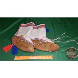 Pair of Moccasin Boots (Ladies 7 to 9)